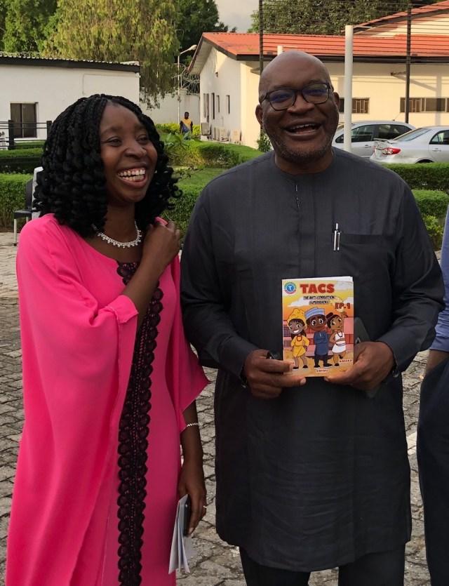 Soji Apampa and Onyinye Ough, corruption and TACS