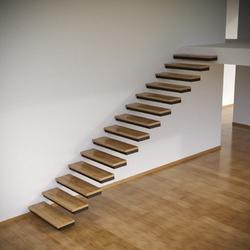 Консольный каркас лестницы