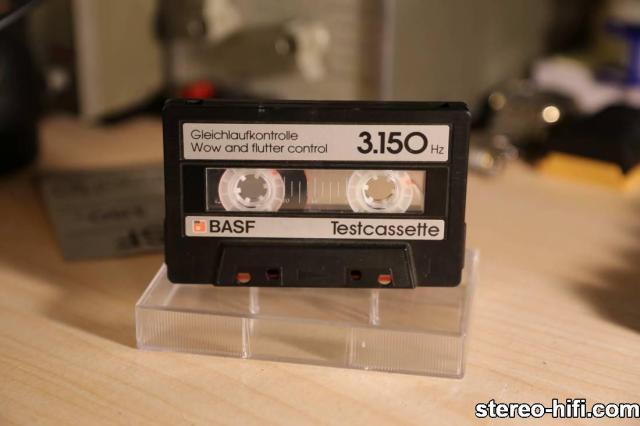 BASF TEST CASSETTE 3150Hz kaseta Service tapes   Kasety serwisowe