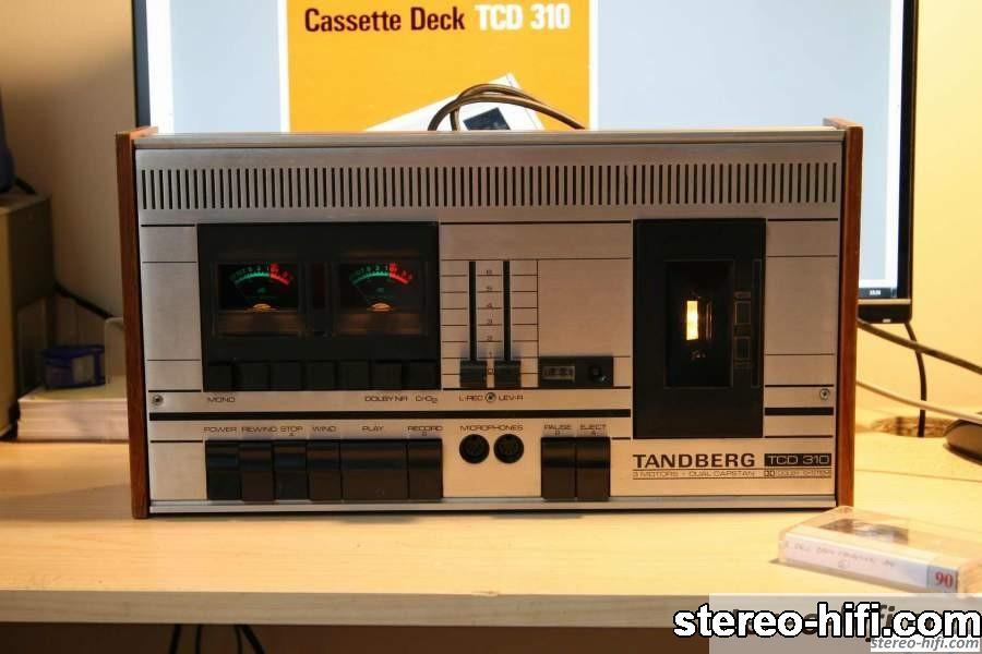 Tandberg TCD 310 front