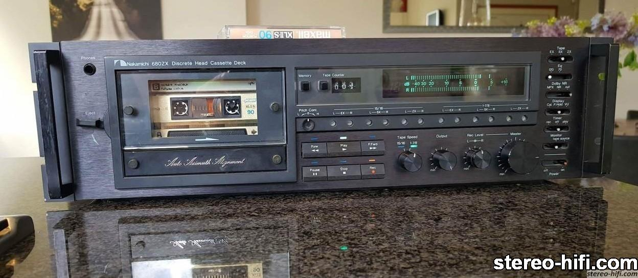Nakamichi 680ZX front