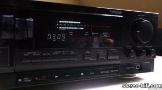 Denon DRM-800 black wyświetlacz