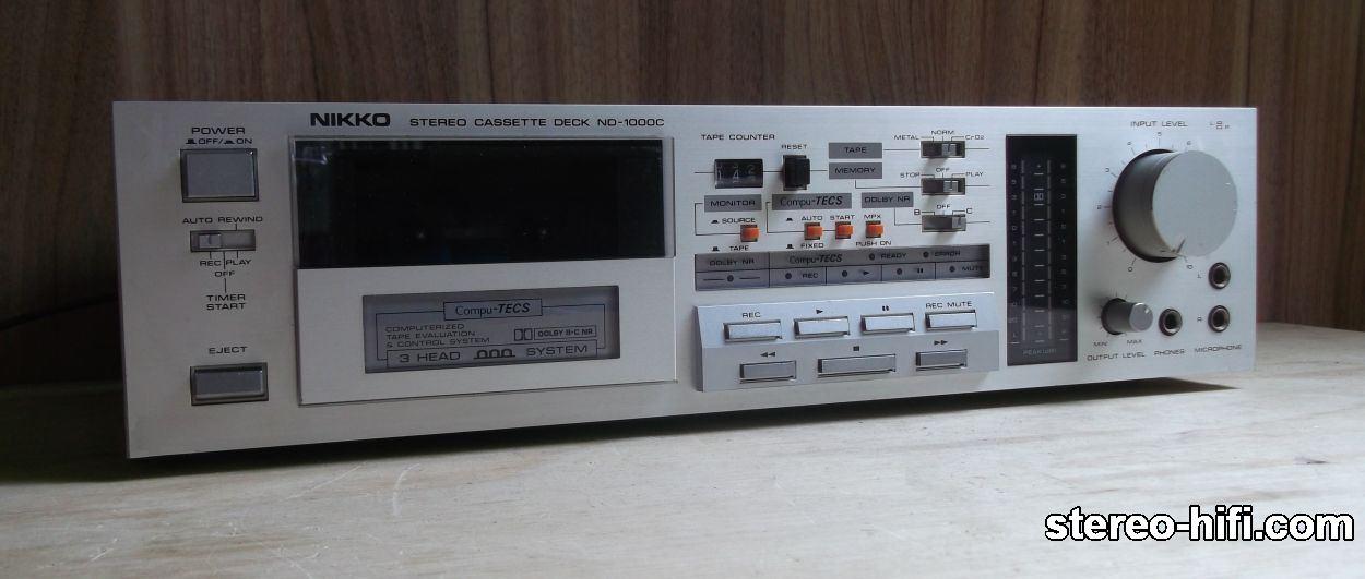 Nikko ND-1000C front
