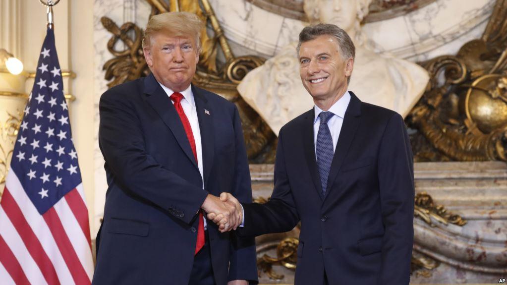 EE.UU. y Argentina reafirman fuerte alianza en cumbre del G-20