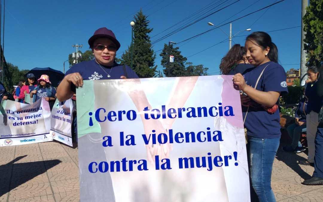 Buscan hacer conciencia sobre la violencia contra la mujer