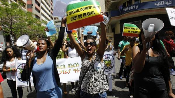 En el Líbano, empleadas domésticas al borde de la esclavitud