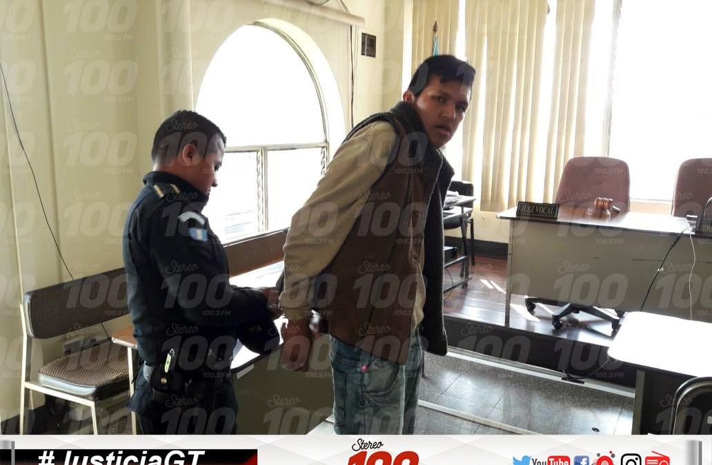 Alias «Chino Chimuelo» condenado a 25 años de cárcel