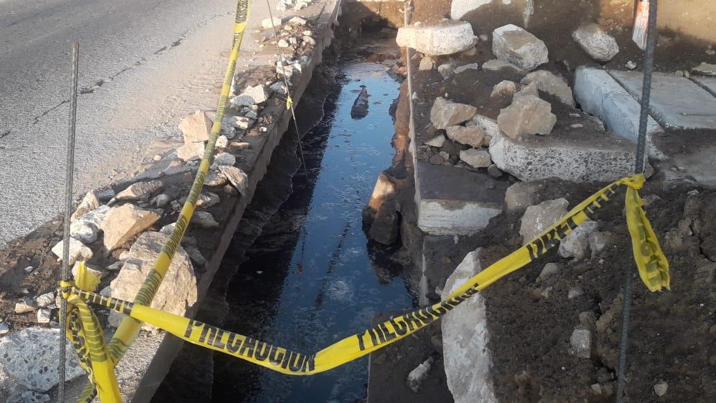 Vecinos afectados por falta de agua en Xela