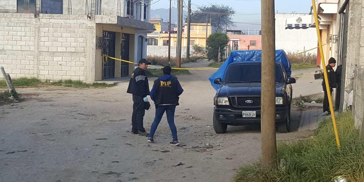 ((Actualización)) Un comerciante herido deja ataque armado en la zona 7 de Xela