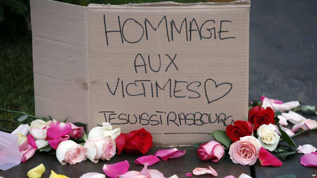 Francia busca a sospechoso de ataque en Estrasburgo