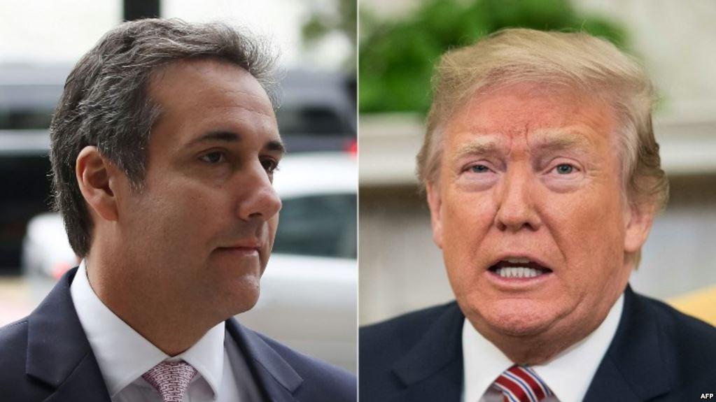 Cohen sobre Trump: Me ordenó que hiciera los pagos y sabía que eran incorrectos