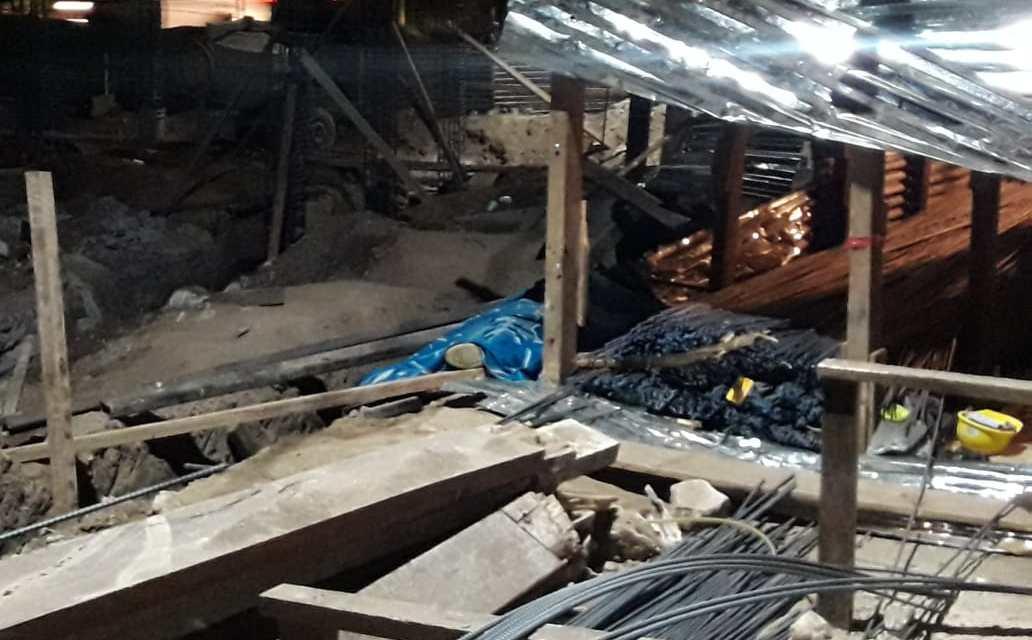 Falleció en la construcción del Centro de Salud de San Juan Ostuncalco