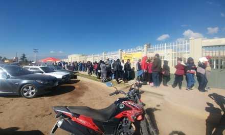 Largas filas para tramitar antecedentes policiacos