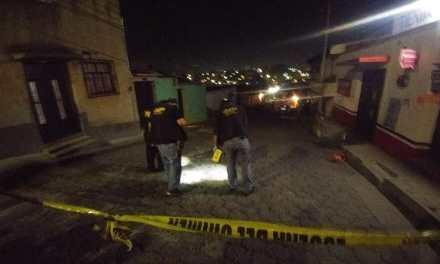 Investigan primer asesinato del 2019 en Xela