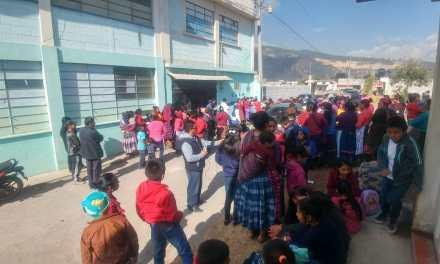 Comunitarios confirman que clases iniciarán el lunes en Tierra Colorada Baja