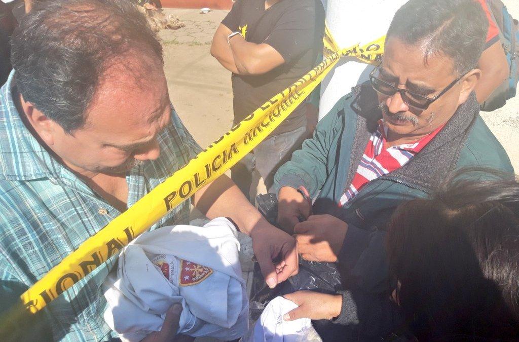 Mayor de bomberos falleció tras ataque con arma blanca