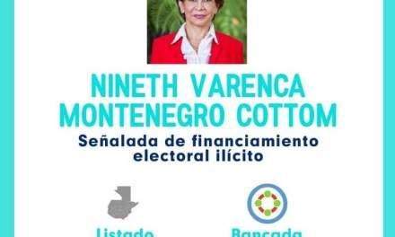 Encuentro por Guatemala respalda a Nineth Montenegro