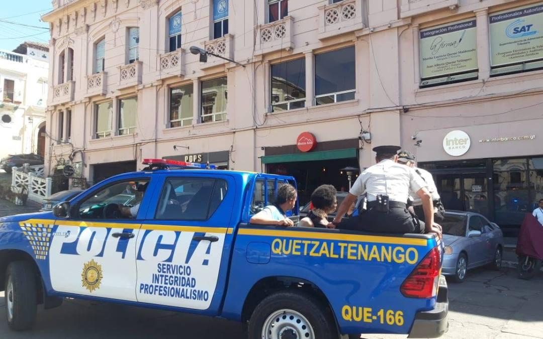 Nuevas autoridades de PNC en Xela