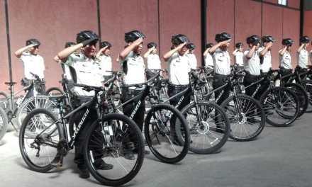 Finaliza entrenamiento de Patrullaje en Bicicleta