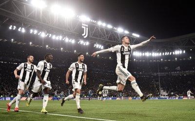 Goleadas categóricas en la Champions. Juventus y el Manchester City a cuartos