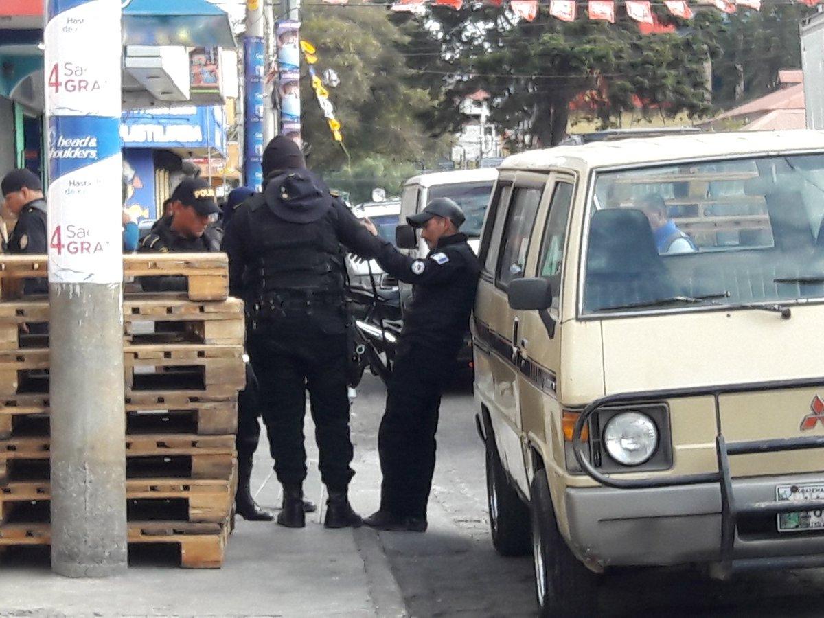Guardia dispara y mujer de 61 años resulta herida en Xela