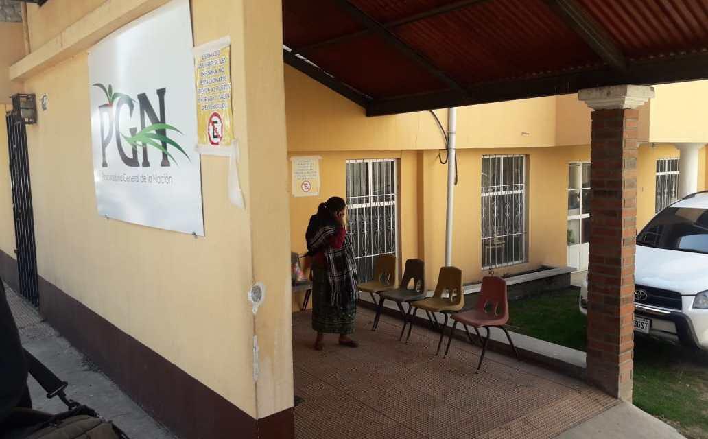 PGN sobre menores de edad que escapan del hogar Luna de Xelajú
