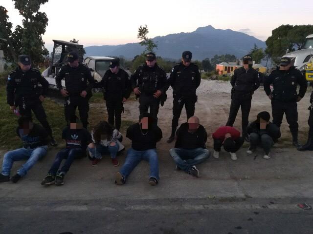 Capturados luego de asalto a bus