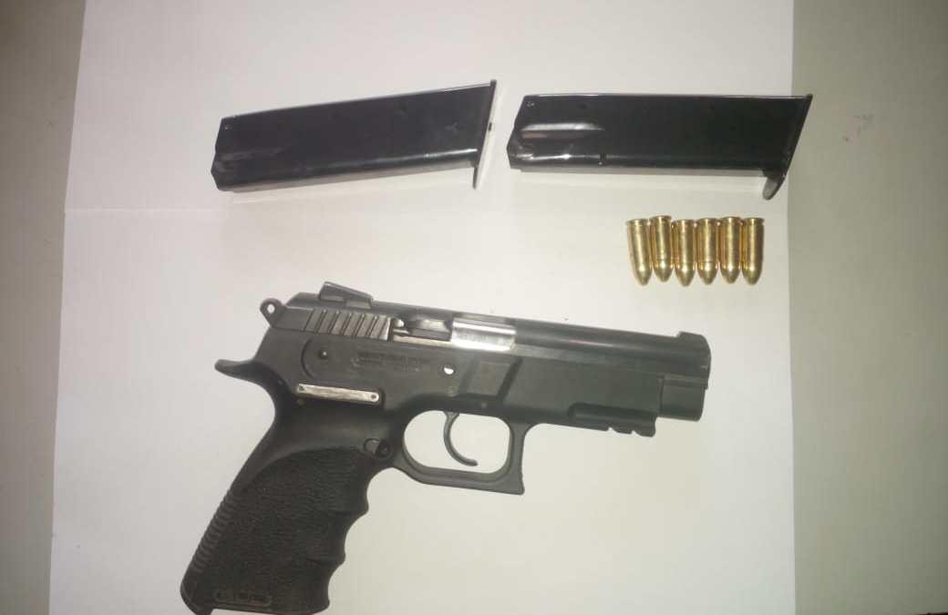 Capturado en Cajolá con arma sin licencia