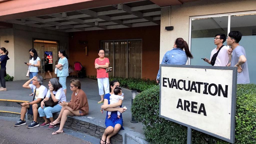 Terremoto de 6,3 sacude a Manila
