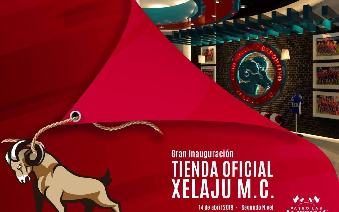 Anuncian fecha de inauguración de la tienda oficial del CSD Xelajú MC