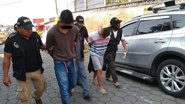 Capturados en Colomba por asesinato