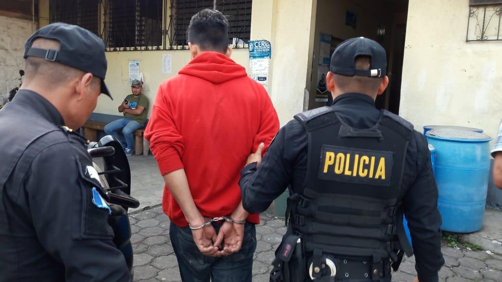 Capturado en Coatepeque por dos delitos