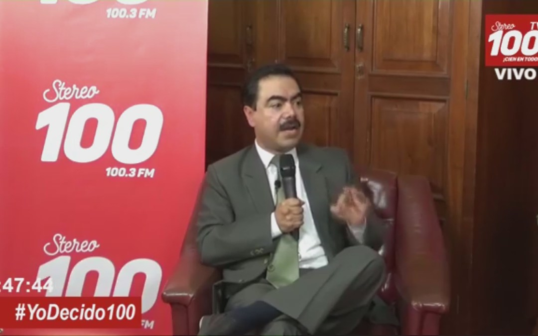 Miguel de León Taracena del PAN en #YoDecido100