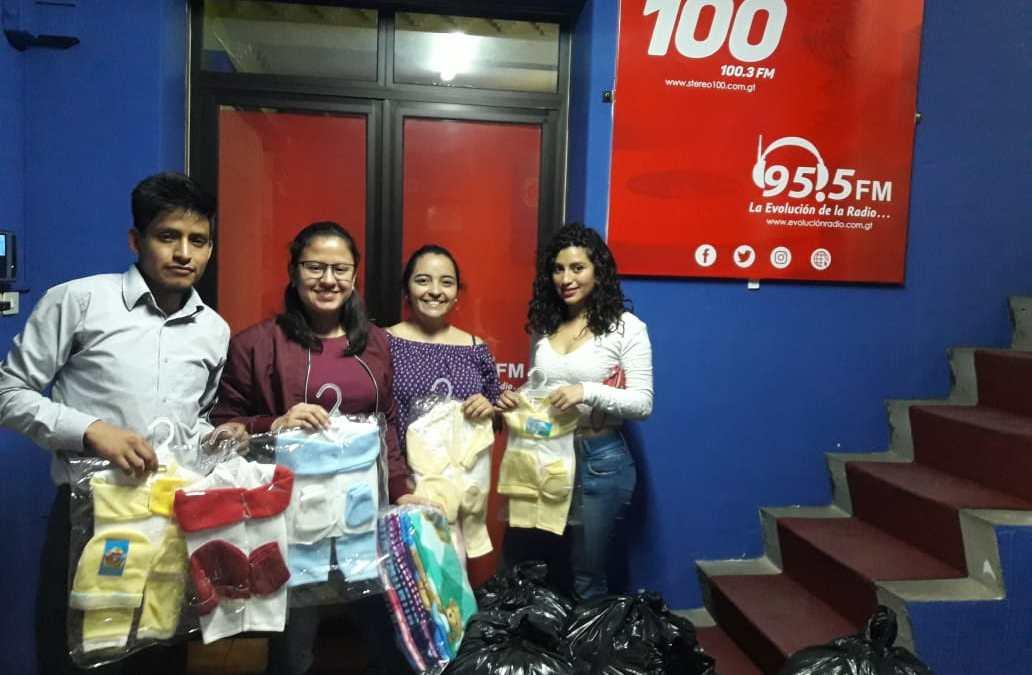 Universitarios apoyan a Bolsitas de Ternura