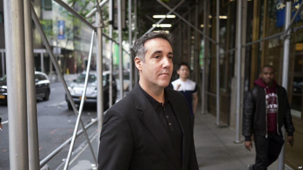 Michael Cohen, ex abogado de Trump, va a la cárcel