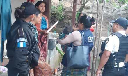 PGN rescata a dos niños con desnutrición