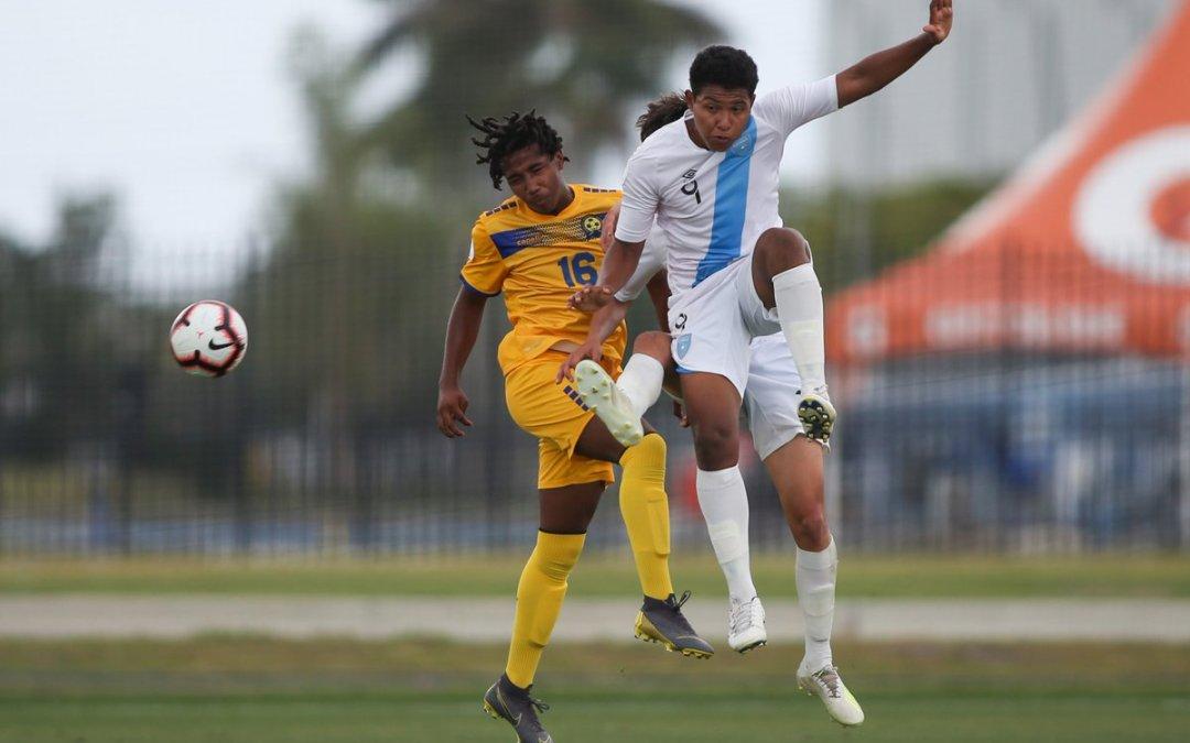 Barbados le empata sobre el final a Guatemala en el Premundial Sub 17