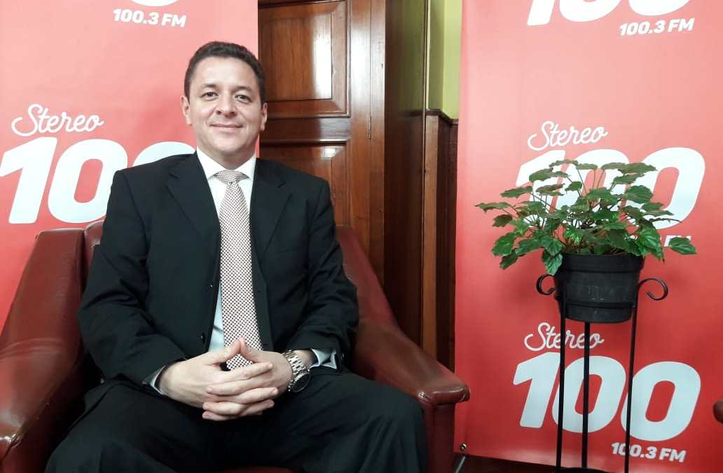 Hugo Soto Comparini, candidato a alcalde de Xela, por el partido CREO en #YoDecido100
