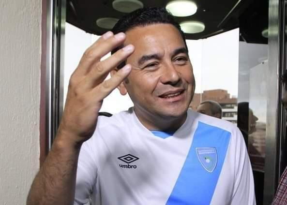 Jimmy Morales resultó lesionado