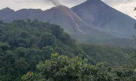 Conozca cuál es la actividad que presenta el volcán Santiaguito
