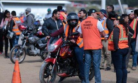 Examen para licencia de moto gratis en Xela