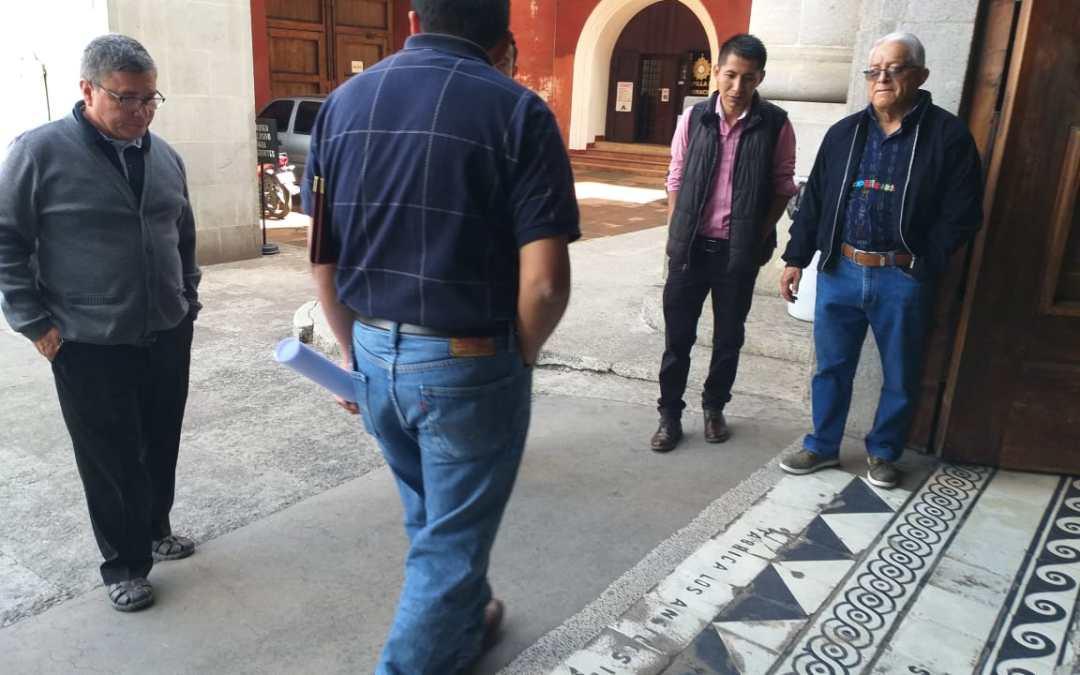 Restaurarán ingreso principal a la Catedral del Espíritu Santo