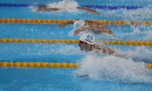 Luis Carlos Martínez quedó a cuatro centésimas del oro. Consigue medalla de plata