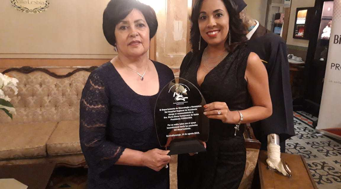 Fundacien recibe reconocimiento por las «Bolsitas de Ternura»