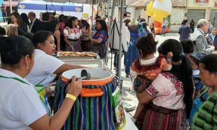 Fundación Juan Bautista Gutiérrez finaliza programa de nutrición en Totonicapán