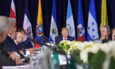 Trump se reúne con líderes del continente para hablar sobre Venezuela