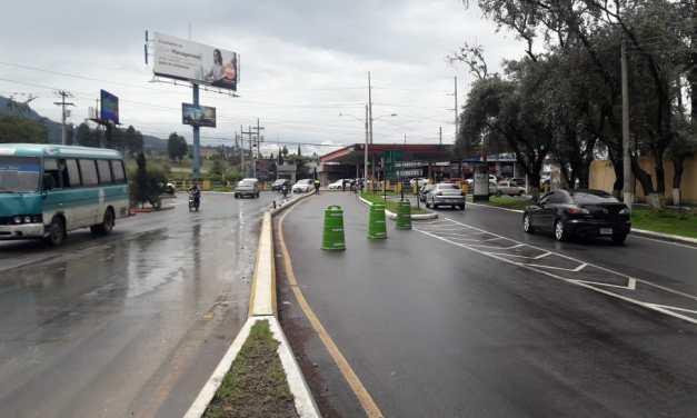 Cierre temporal en viaducto de Avenida Las Américas