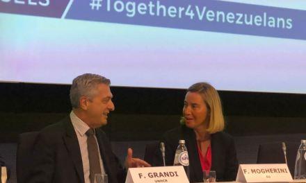 La Unión Europea recauda 150 millones de dólares más para hacer frente a la crisis de Venezuela