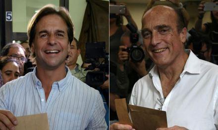 Uruguay irá a segunda vuelta para elegir al presidente: ¿Martínez o Lacalle Pou?