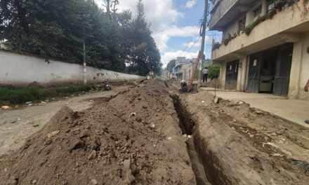 Proyecto municipal busca evitar inundaciones en la zona 1 de Xela